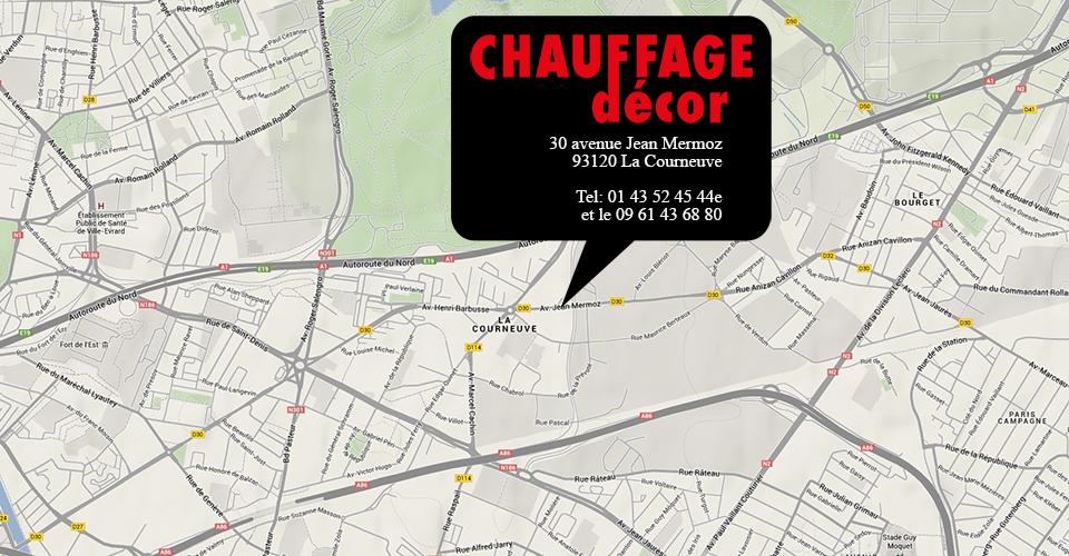 CHAUFFAGE DECOR.com votre spécialiste en radiateur TUBE AILETTES eau chaude ou électrique !
