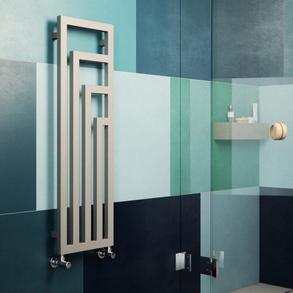 ANGUS, le radiateur sobre et original pour votre chauffage central. La ligne pure de ses tubes carrés vous séduira.