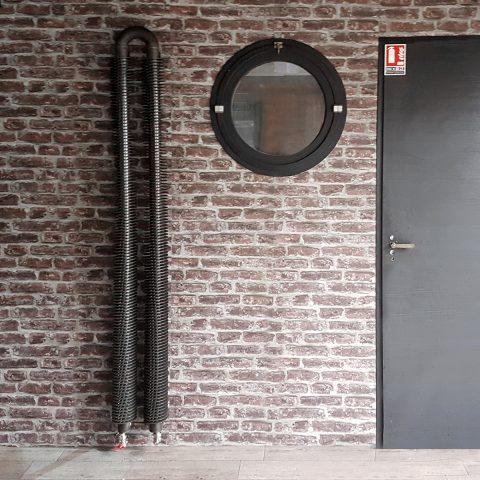 radiateur TUBE AILETTES DOUBLE VERTICAL : le style loft ou indus