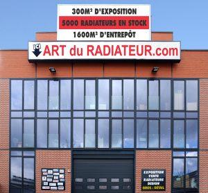 radiateur tube à ailettes, site, vente, exposition