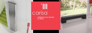 CARISA : des radiateurs DESIGN en INOX