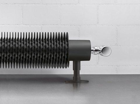 FLOW FORM, le radiateur tube ailettes électrique au design industriel assuré