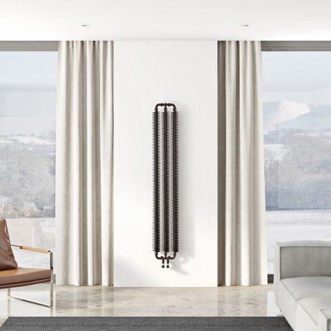 RIBBON - radiateur tube-ailettes.com eau chaude pour chauffage central - radiateur tube à ailettes - style indus - style loft - radiateur DESIGN - 48.931860, 2.402293